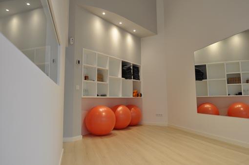Sala de ejercicio terapéutico en Chamartín