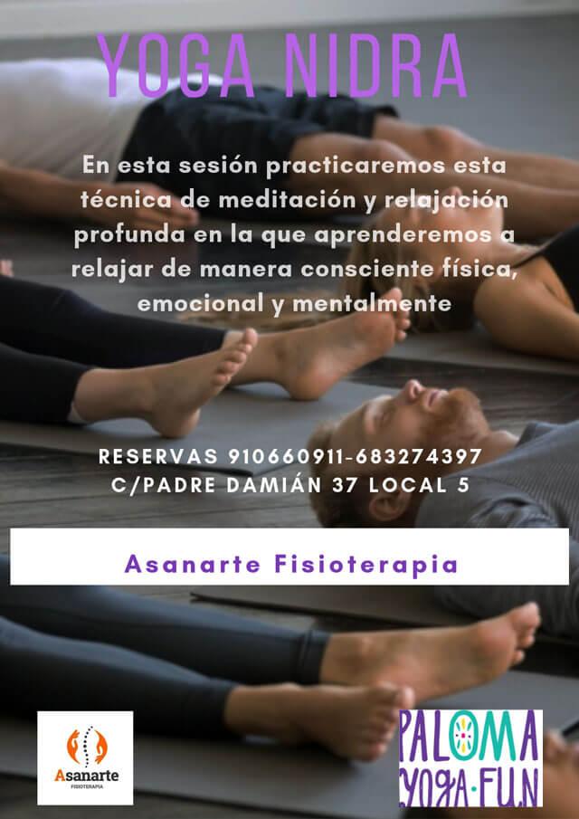 Yoga Nidra. Meditación y relajación