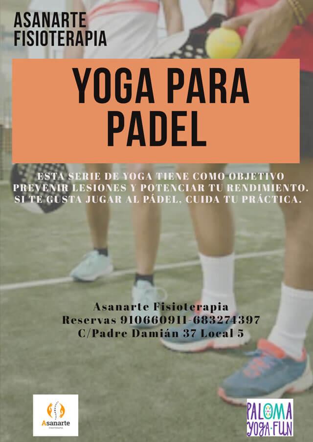 Yoga para padel